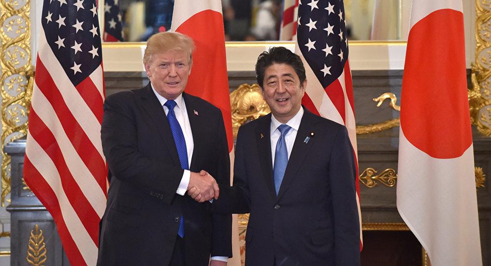 سفر ترامپ به ژاپن