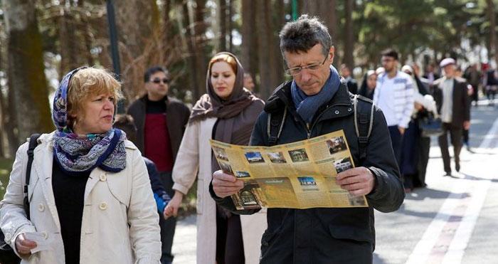 گردشگران خارجی در تهران