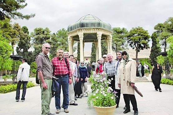 گردشگران خارجی در شیراز